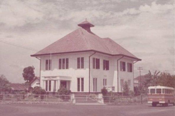 Gedung BRI Siantar 1961
