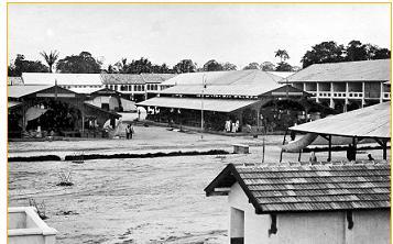 Pasar Horas Pematang Siantar tahun 1900-1921