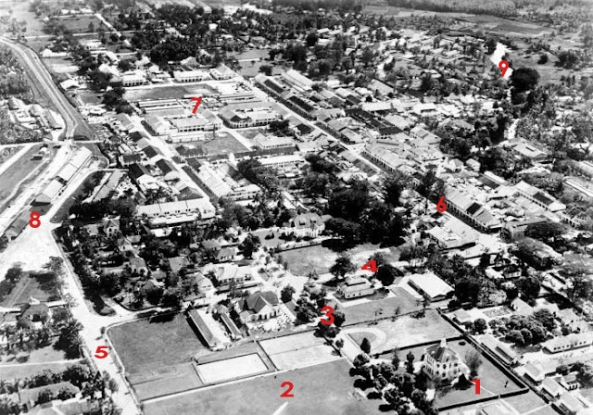 Foto udara Pematang siantar 1938